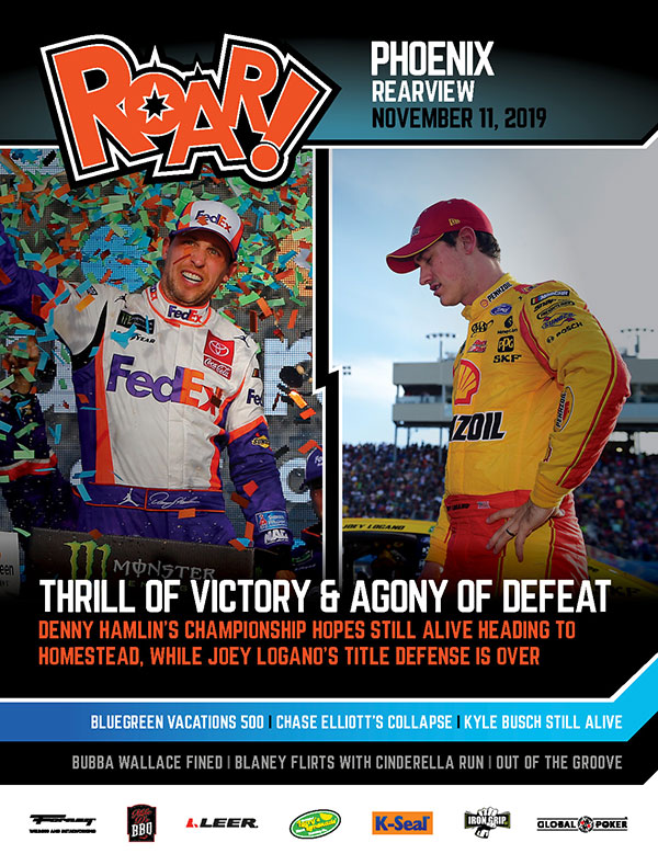 ROAR! Phoenix Race Weekend Rearview November 2019