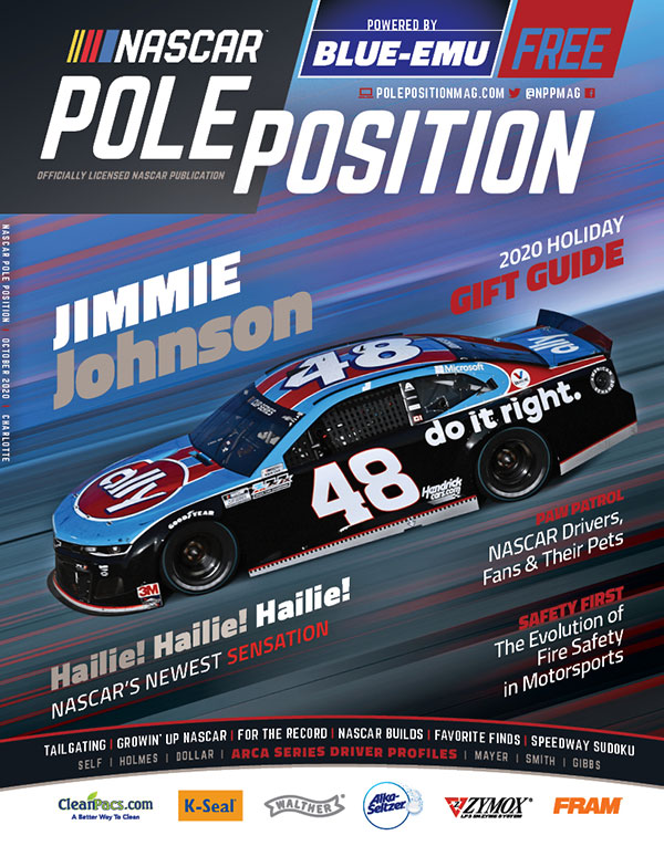 NASCAR Pole Position Charlotte in October 2020