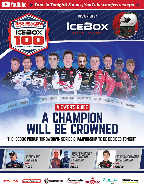 ROAR Pickup Throwdown Viewers Guide eSports iRacing Truck Series IceBox 100