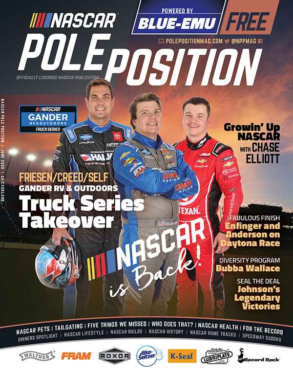NASCAR Pole Position Chicagoland in June 2020