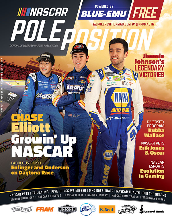 NASCAR Pole Position 2020 June/July