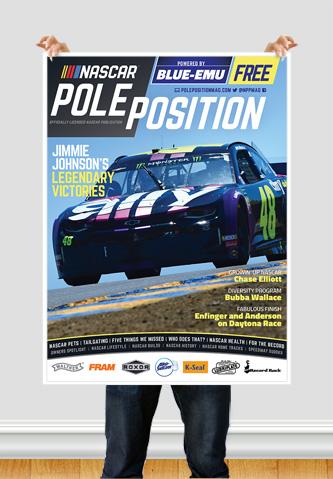 NASCAR Pole Position Sonoma in June 2020