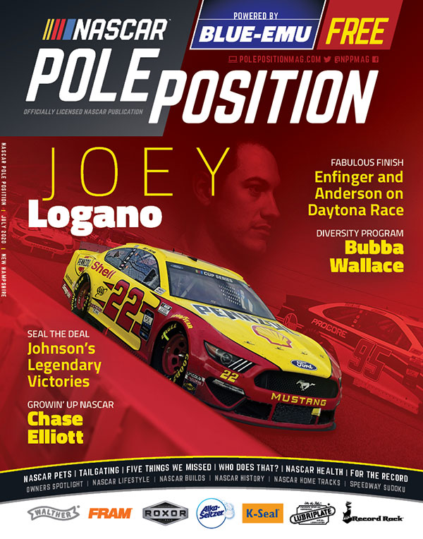 NASCAR Pole Position New Hampshire in July 2020