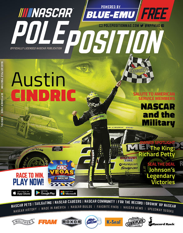 NASCAR Pole Position Bristol in September 2020