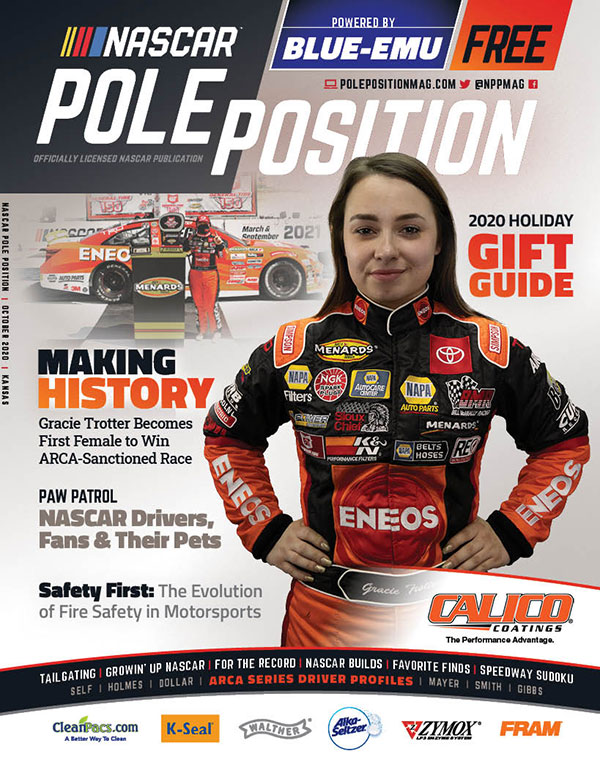 NASCAR Pole Position Kansas in October 2020
