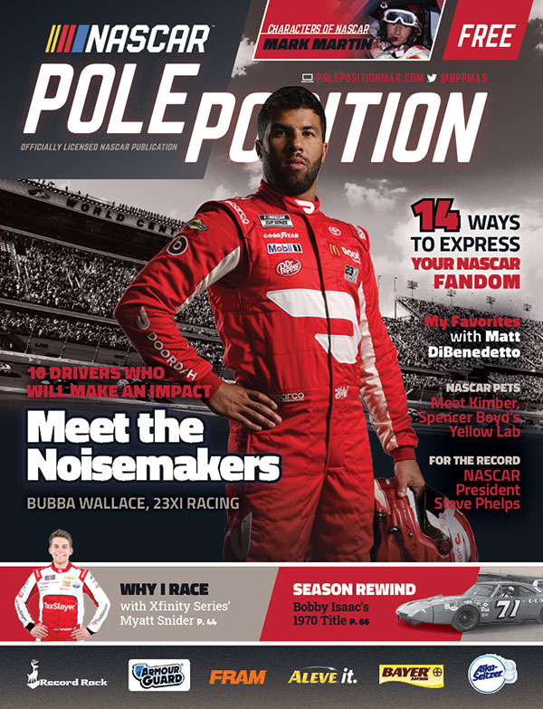 NASCAR Pole Position February/March 2021