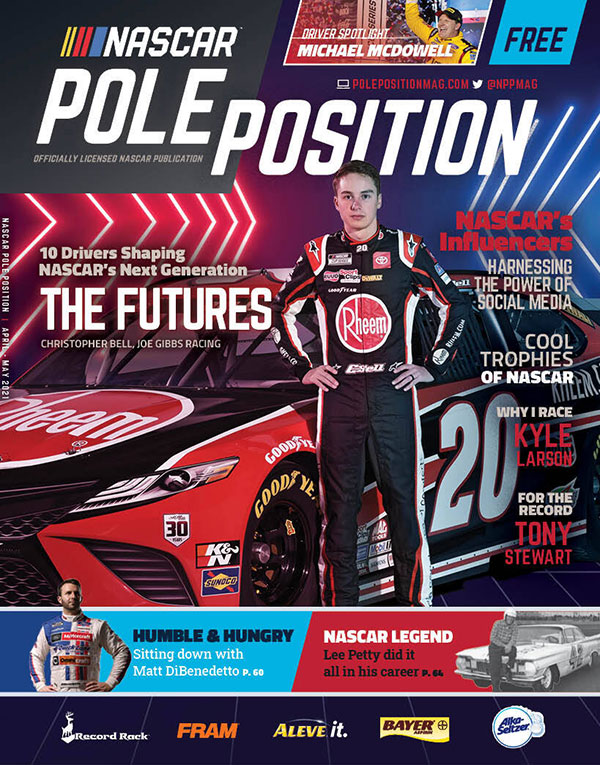 NASCAR Pole Position April/May 2021