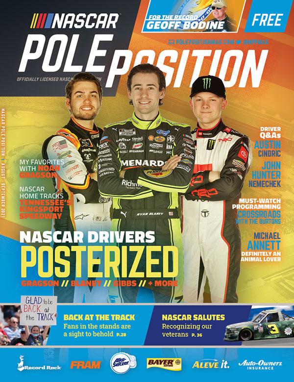NASCAR Pole Position Aug/Sep 2021