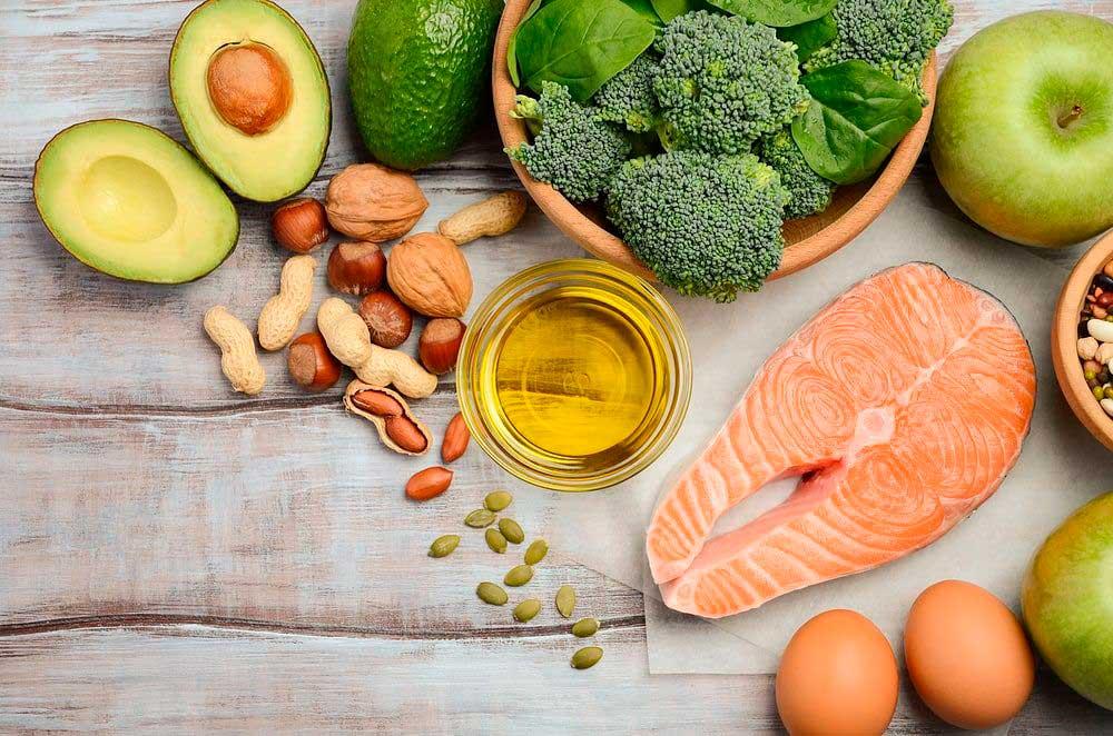 полезные для здоровья продукты