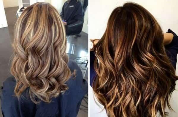 Мелирование на темные волосы: техника, фото до и после