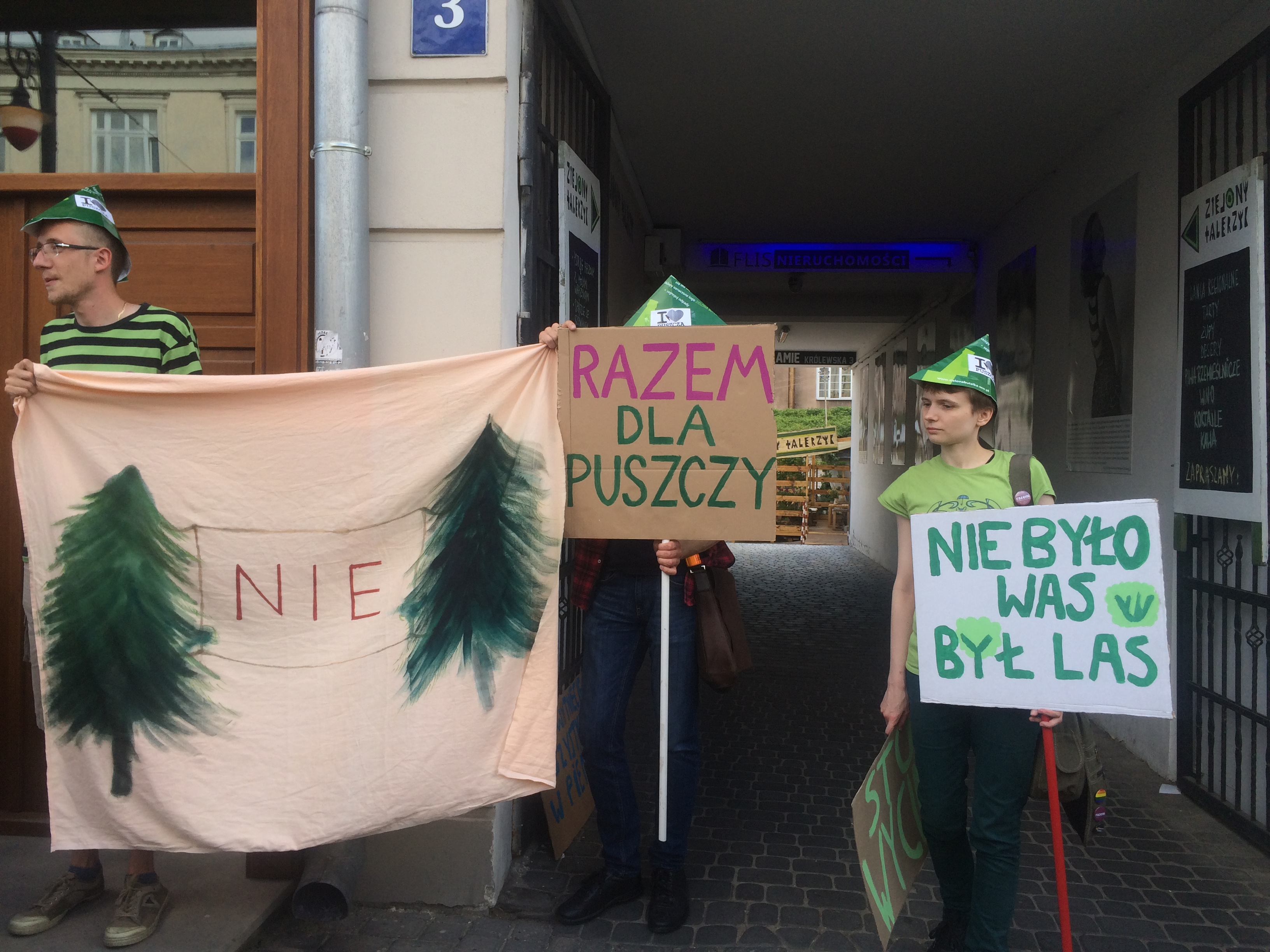 Zielony protest