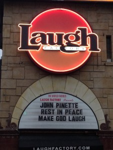 Laugh Factory marquee