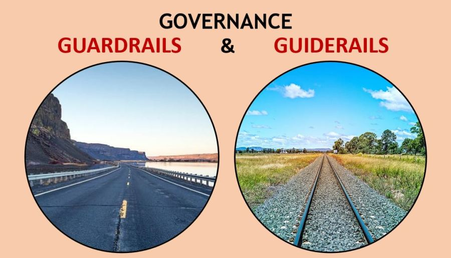 Governance guardrails and guiderails