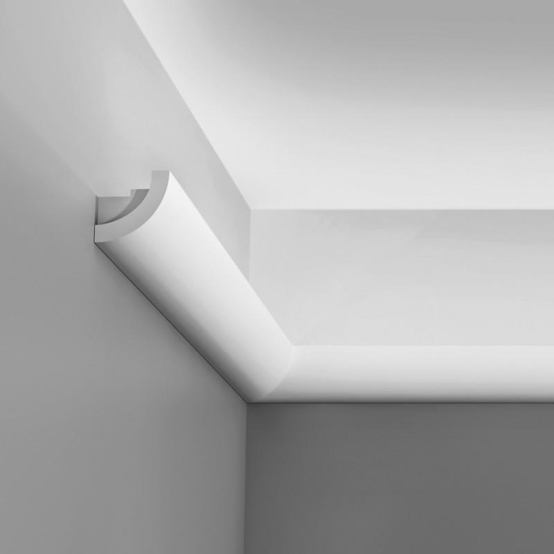 Cornice porta led in polistirolo per pareti e soffitti - Polistirolo decorativo per pareti ...