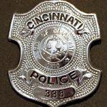 atrolman Donald Martin's badge