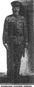 SubPatrolman Clifford L. Cornish