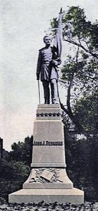 Captain Desmond's Statue in the as it was in Lincoln Park