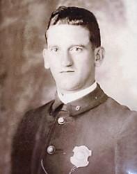 Potrait of Motorcycle Patrolman George Leporis