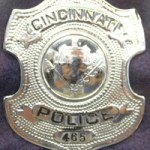 Police Officer William J. Loftin's badge