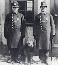 Patrolman James O'Neill with his partners