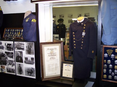 A tour of the museum will walk you back in time through its numerous displays. Docents include active or retired police officers and civilians who will share their memories with you.