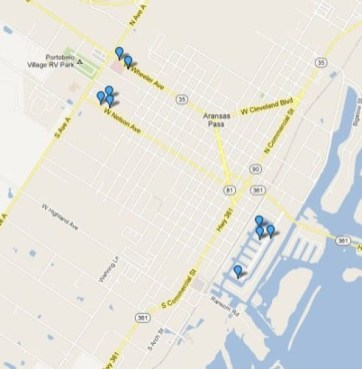Motor Vehicle Burglary Locations 2013