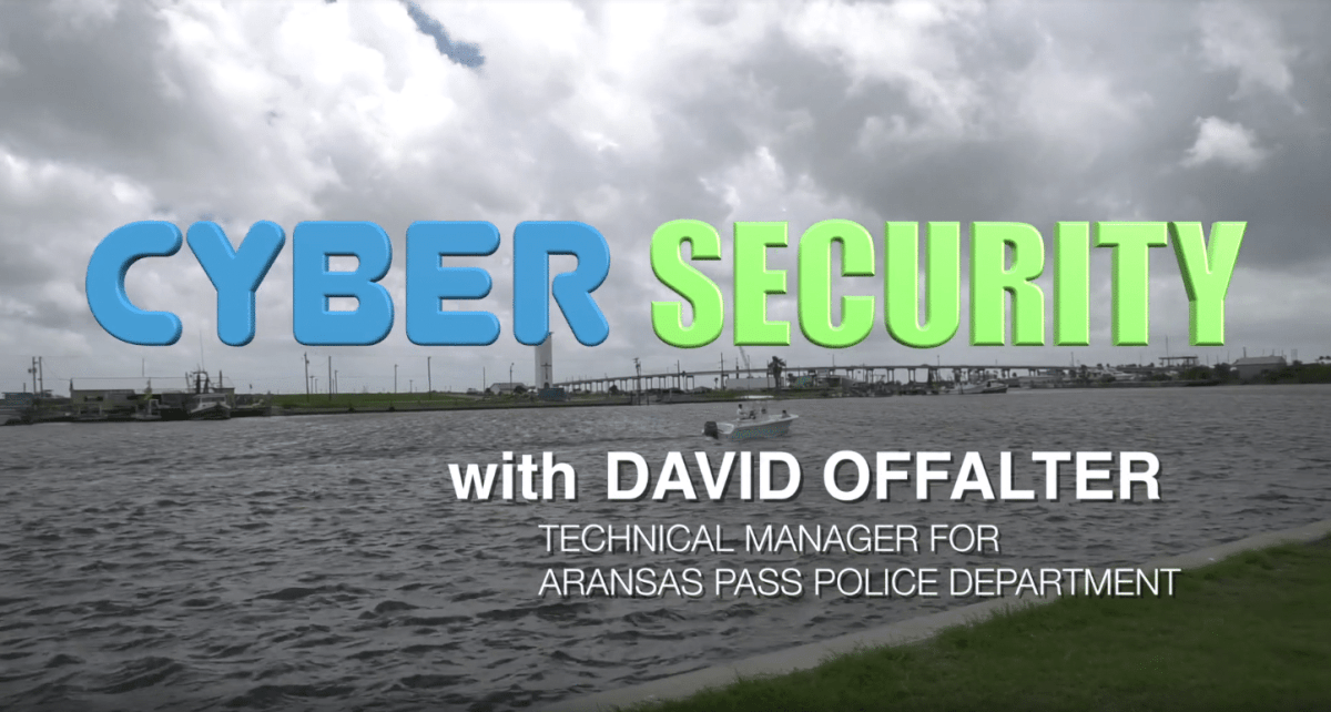 David Offalter discusses cybersecurity and how to protect your smart device.