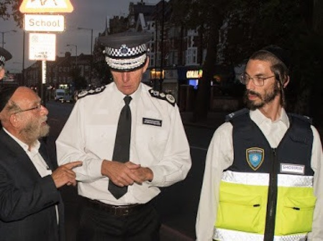 Credit: Shomrim N.E London @Shomrim