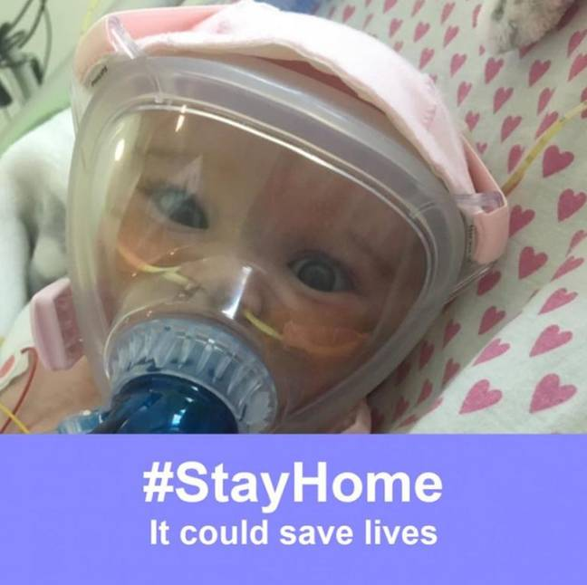Six months old baby beats Coronavirus while fighting Heart And Lung Problems 2