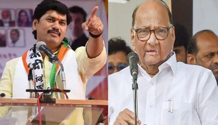sharad pawar and dhananjay mundhe