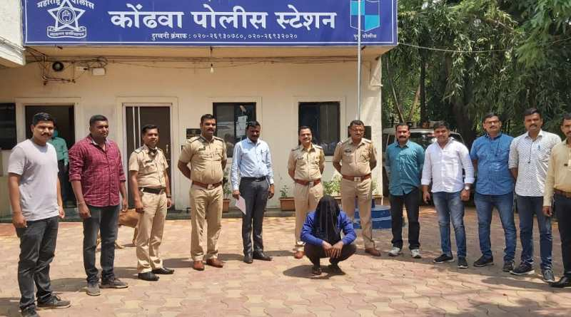 kondhwa-murder-case-criminal-in-police-custody