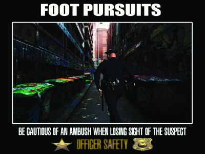 Police Foot Pursuit Poster
