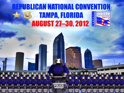 Republican National Convention Police Poster