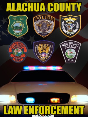 Alachua County Florida Law Enforcement Poster