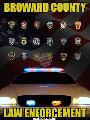 Broward County Law Enforcement Poster
