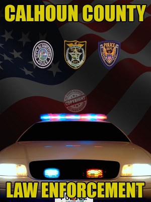 CALHOUN County Florida law enforcement poster