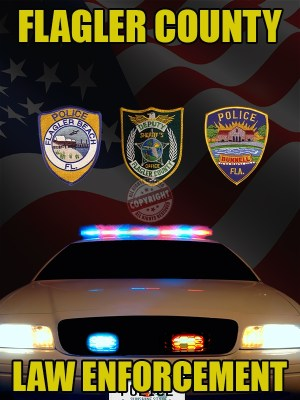 FLAGLER COUNTY FLORIDA LAW ENFORCEMENT POSTER