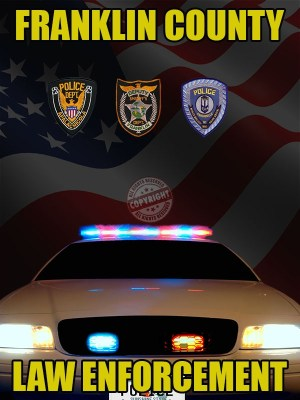 FRANKLIN COUNTY FLORIDA LAW ENFORCEMENT POSTER