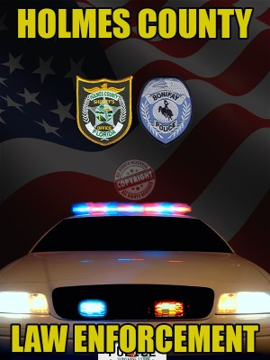 Holmes County Florida Law Enforcement Poster