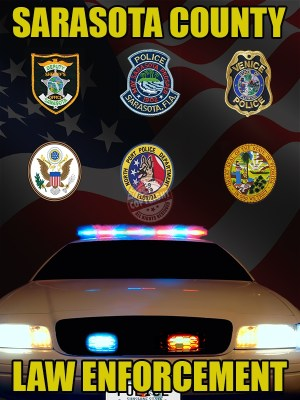 Sarasota County Florida Law Enforcement Poster