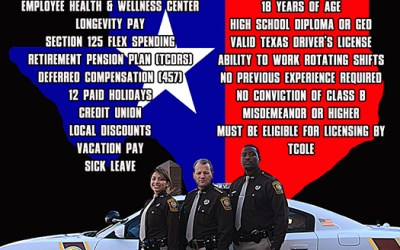 Fort Bend County Texas Sheriff's Office Recruiting Poster