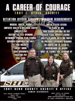 Fort Bend County Texas Sheriff -1000