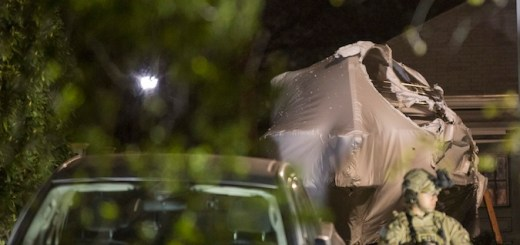 Boston Police Secure scene of crime