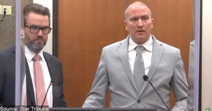 Derek Chauvin Reportedly Nearing Deal With Feds On Civil Rights Charges