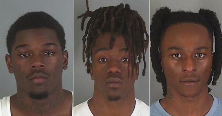 Felon And Friends Arrested With Guns And Weed After Shooting Fireworks At Deputies