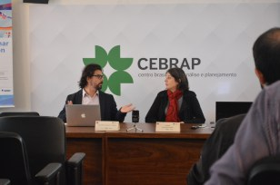 Opening statement with Angela Alonso, president of CEBRAP and Osmany Porto, Event Coordinator