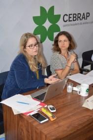 Vanessa Rodrigues from IESP/UERJ and Gabriela De Brelaz from EPPEN-Unifesp