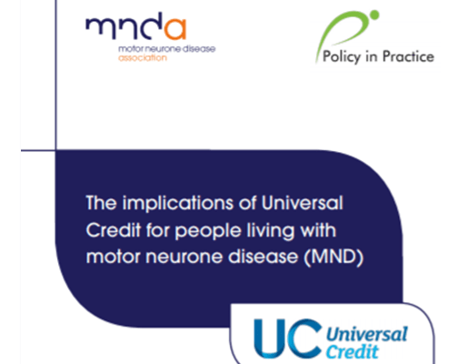 The implications of Universal Credit on people living with Motor Neurone Disease