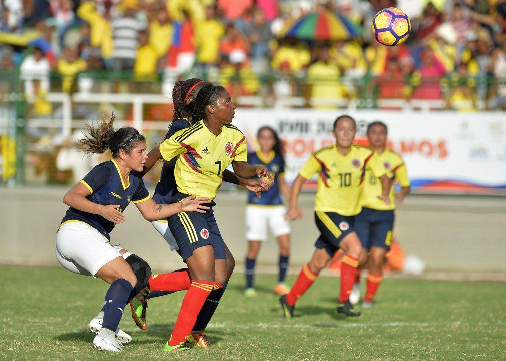 Chicas sub 17 tropezaron con Colombia en Suramericano