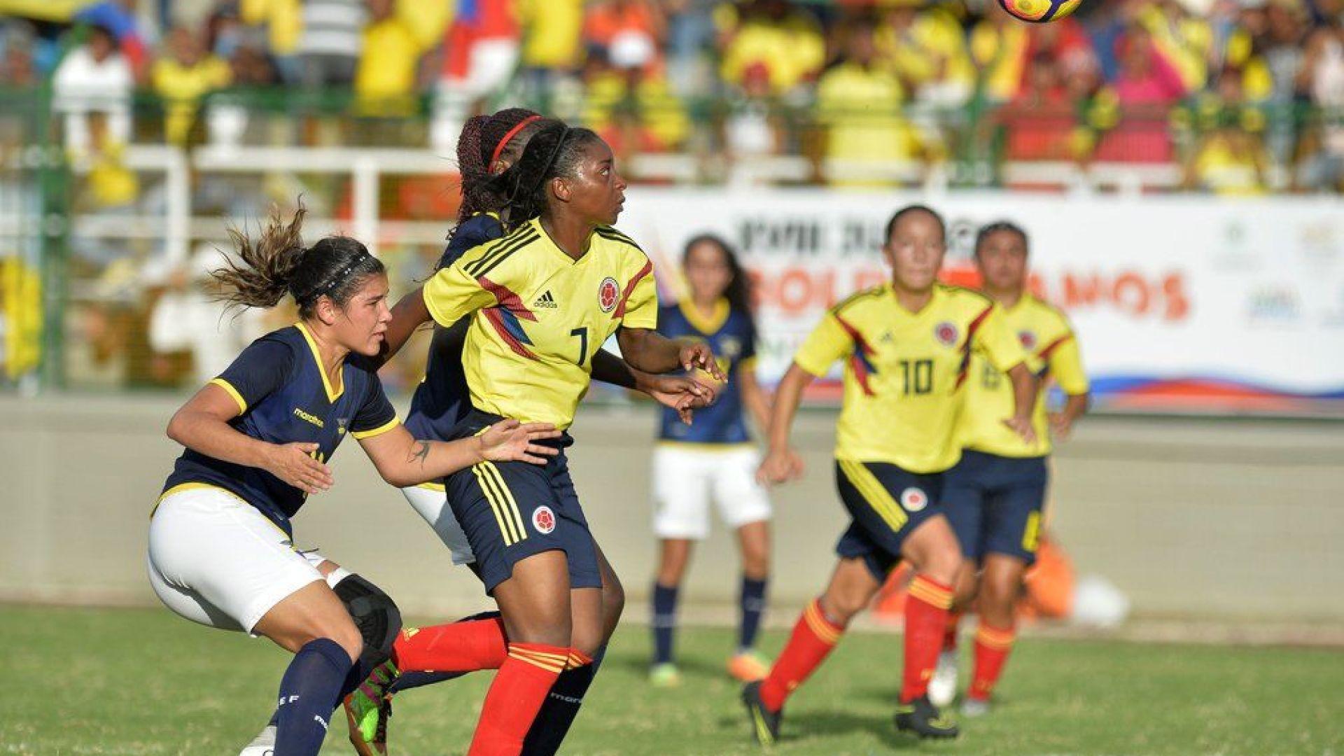 Selección Colombia femenina se prepara para Lima 2019